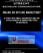 Thesis Online or Offline Marketing Communication Strategy Small Businesses
